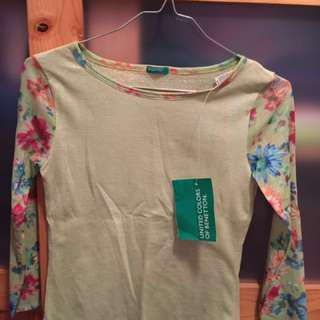 100% New United Colors Of Benetton T-Shirt