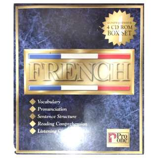 4 FRENCH CD ROMS (PRO ONE)