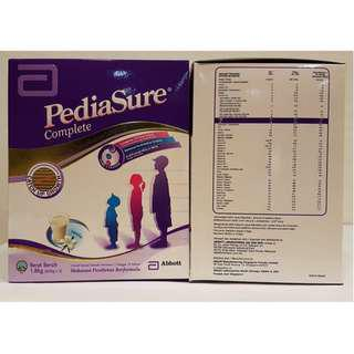 🚚 Pediasure Complete Formula 1.8KG Vanilla - New Refill Packaging