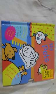 My pets magic colour book