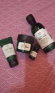 Rangkaian tea tree the body shop