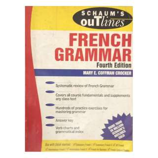 FRENCH GRAMMAR BY SCHAUM'S OUTLINE