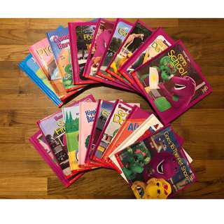 Barney Story Books by Scholastic Almost New