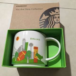 Dallas Starbucks mug YAH You Are Here collection