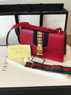 Gucci Sylvie Leather Bag