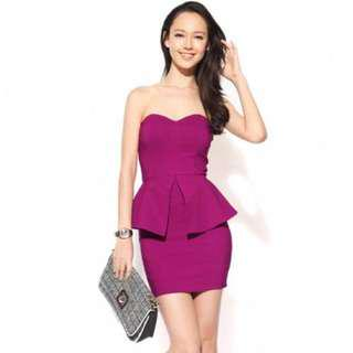 Love Bonito Helix Peplum Dress