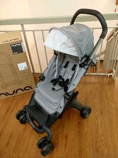 NUNA PEPP Baby Stroller (99% New, Used Once only)