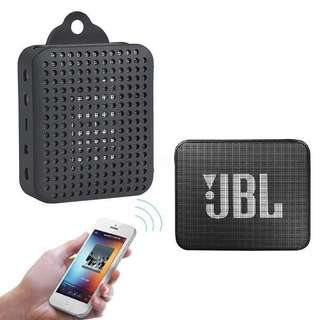 Instock JBL Go 2 Silicon Case With Carabiner Bluetooth Speaker Protective Casing