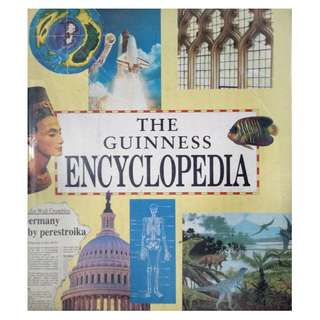THE GUINNESS ENCYCLOPAEDIA (760 FULLY ILLUSTRATED PAGES)