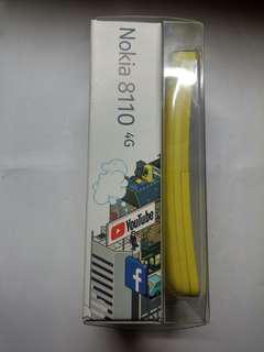 ☆港行全新☆ Nokia 8110 4G 黃色