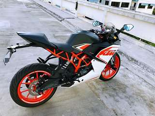 KTM RC 200 COI NO TOP UP