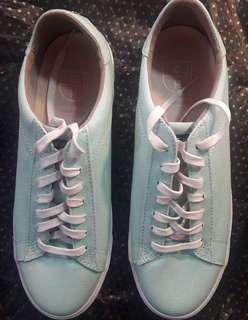 BN Cole Haan Trafton Clubcourt Beach Glass Canvas Size 9B #lfsale