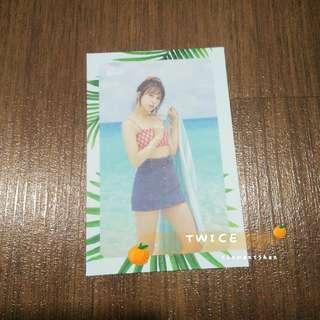 [FREE POS] Twice Mina Dance The Night Away DTNA Message Photocard Card