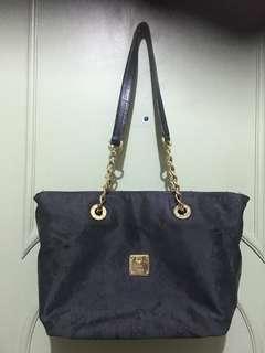 Authentic MCM chain shoulder bag