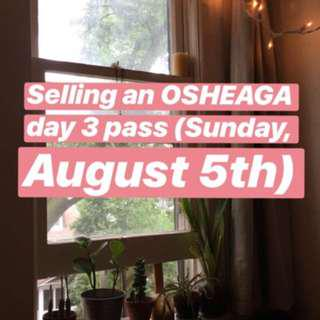 Osheaga tickets