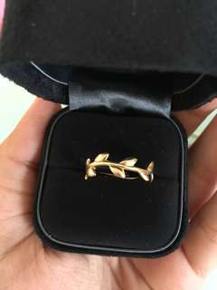 Tiffany&co. Gold ring for half price!!