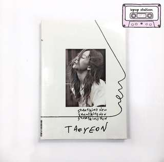 [READYSTOCK] taeyeon - something new album
