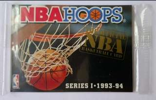 (未拆)NBA HOOPS 93-94 series I 無 No. REDEMPTION SET籃球卡
