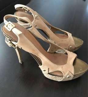 Guess beige heels, size 39