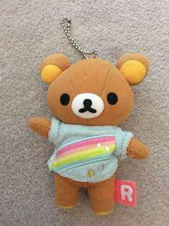 Cute rilakumma plush keychain from 🇯🇵