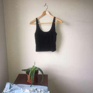 FOREVER 21 casual black tank