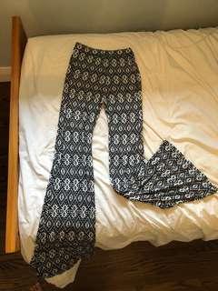Hollister Wide Leg Pants