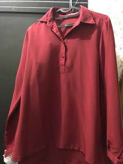 Red blouse (SALE)