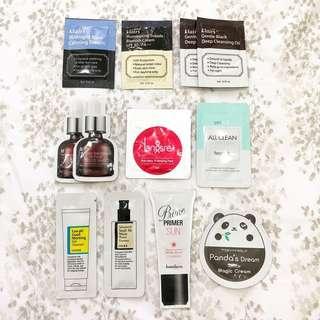 Korean Skin Care Samplers