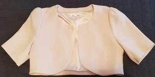 Cream jacket sz 10