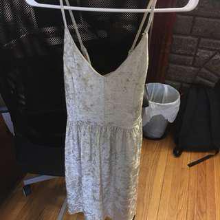 8TH & Main Crushed Velvet Dress