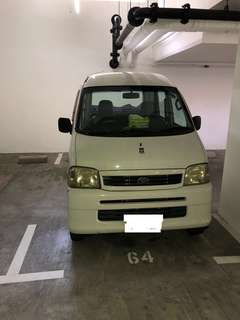 Van rental automatic class 3/3A Daily Short Term