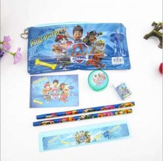 Paw Patrol Stationery Set for Party