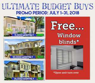 Rent to own house and lot, low downpayment na, installment pa!