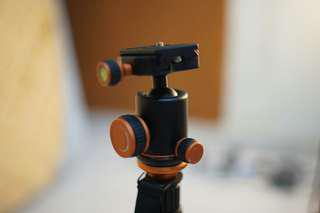 2in1 tripod-monopod with ball head