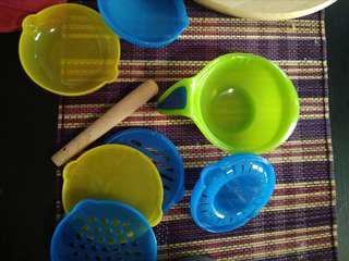 Baby first Food preparation kit grinder Masher