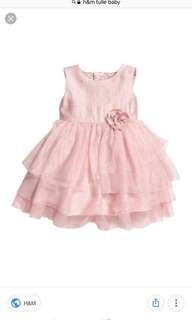 H&M tulle baby dress worth RM89