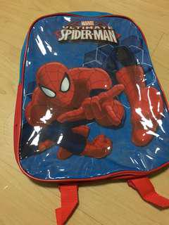 spiderman kindergarten bag