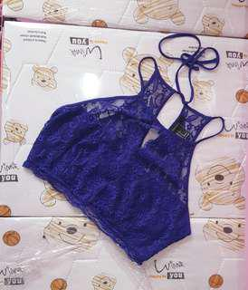 FOREVER21 Lace CropTop