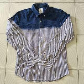 Uniform Experiment Sophnet striped shirt size 2