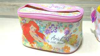 Make up /makeup / sewing pouch winnie the pooh, disney, little mermaid, ariel, princess, travel bag,