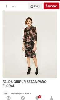 Zara 1 set top and skirt