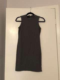 Dynamite Grey Bodycon Dress