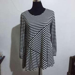 Stripes Long Top