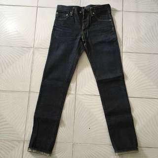 Visvim Social Sculpture Denim Pants 04R