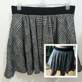 INGNI Japan Brand Plaid Checkered Trendy Skirt Highwaist Skirt