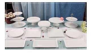 Dessert Table Trays Rental (12 pcs)