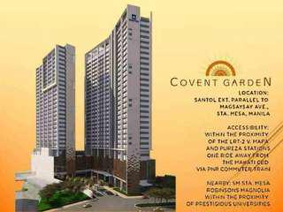 Rent to Own Condo Units in Sta Mesa Manila (No SPOT DP) Available in Preselling
