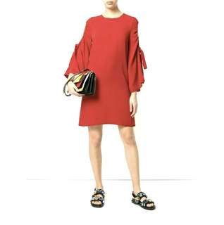 BNEW Open-sleeve dress