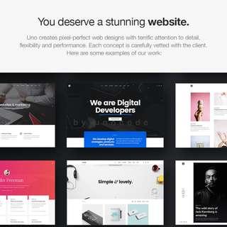 Website Design | Web Development | Unocode by DripFeed