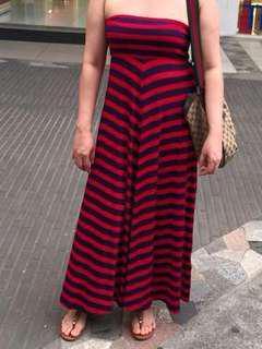 F21 tube Maxi dress